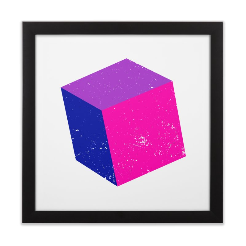 Bi - cubular Home Framed Fine Art Print by Prismheartstudio 's Artist Shop