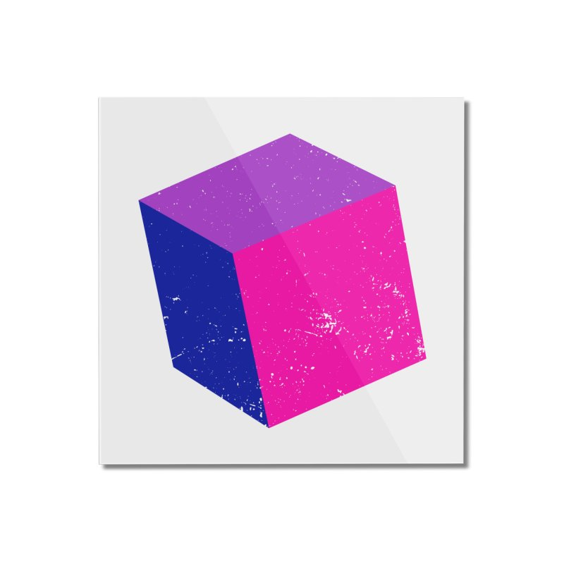 Bi - cubular Home Mounted Acrylic Print by Prismheartstudio 's Artist Shop