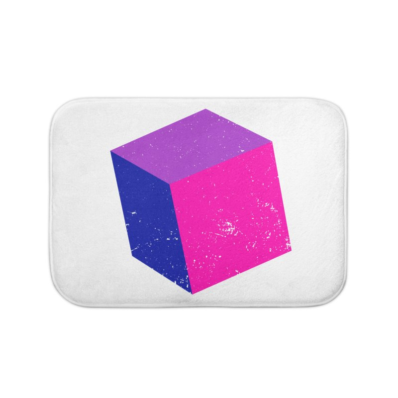 Bi - cubular Home Bath Mat by Prismheartstudio 's Artist Shop
