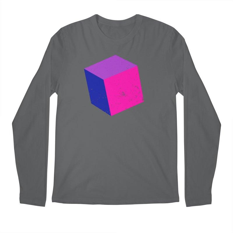 Bi - cubular Men's Longsleeve T-Shirt by Prismheartstudio 's Artist Shop