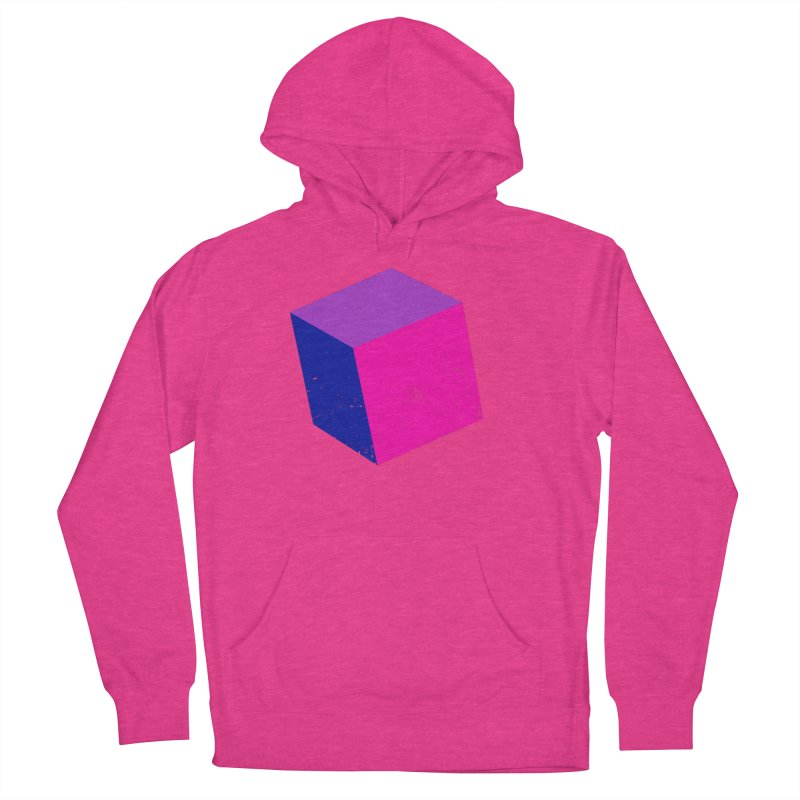 Bi - cubular Women's French Terry Pullover Hoody by Prismheartstudio 's Artist Shop