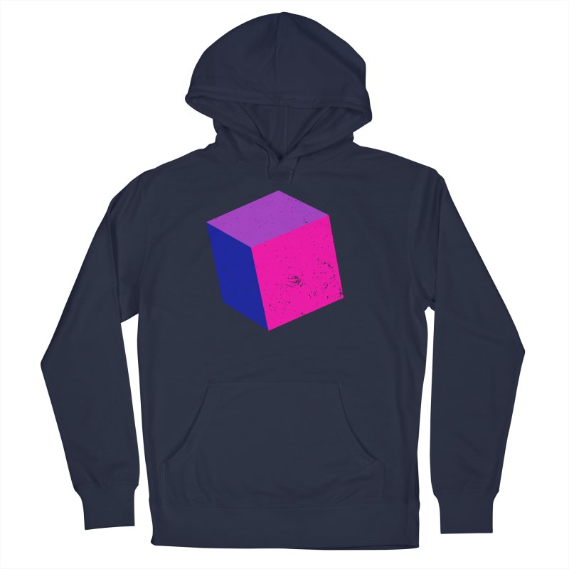 Bi - cubular Men's French Terry Pullover Hoody by Prismheartstudio 's Artist Shop