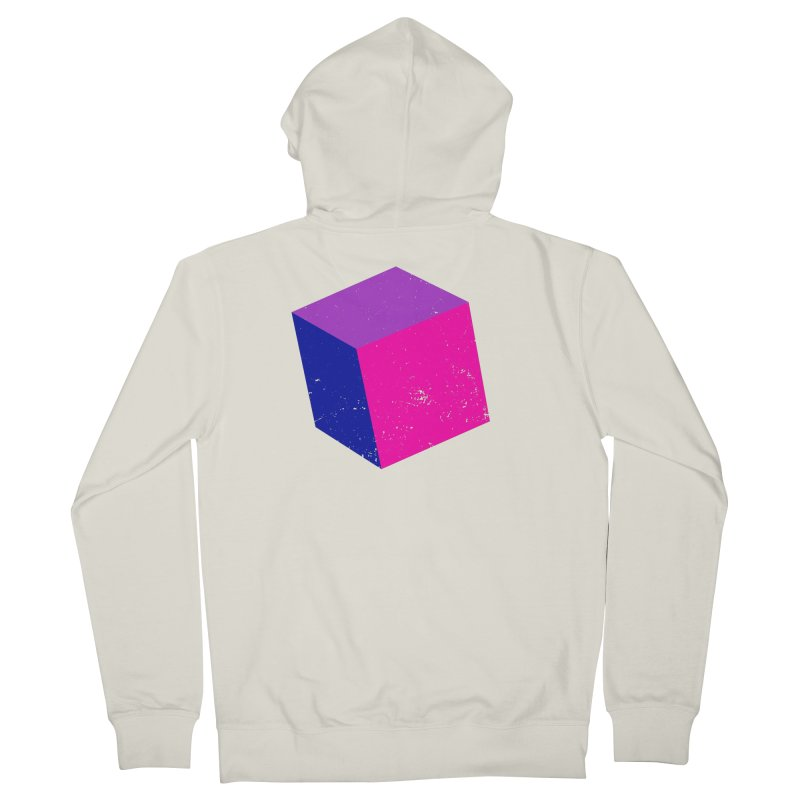 Bi - cubular Women's French Terry Zip-Up Hoody by Prismheartstudio 's Artist Shop