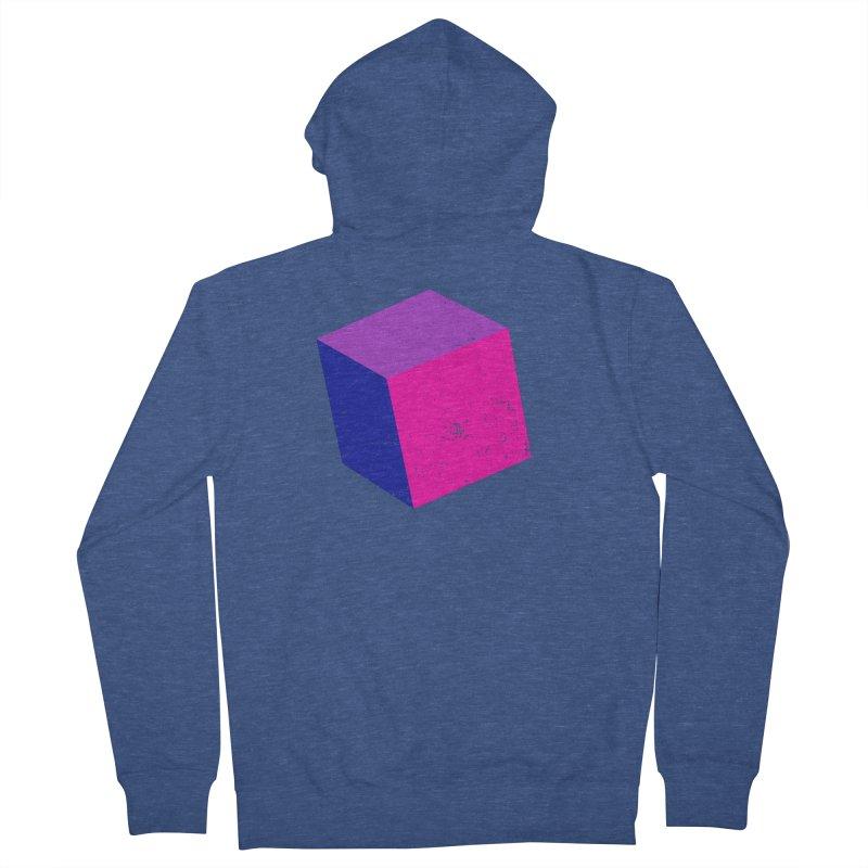 Bi - cubular Men's French Terry Zip-Up Hoody by Prismheartstudio 's Artist Shop