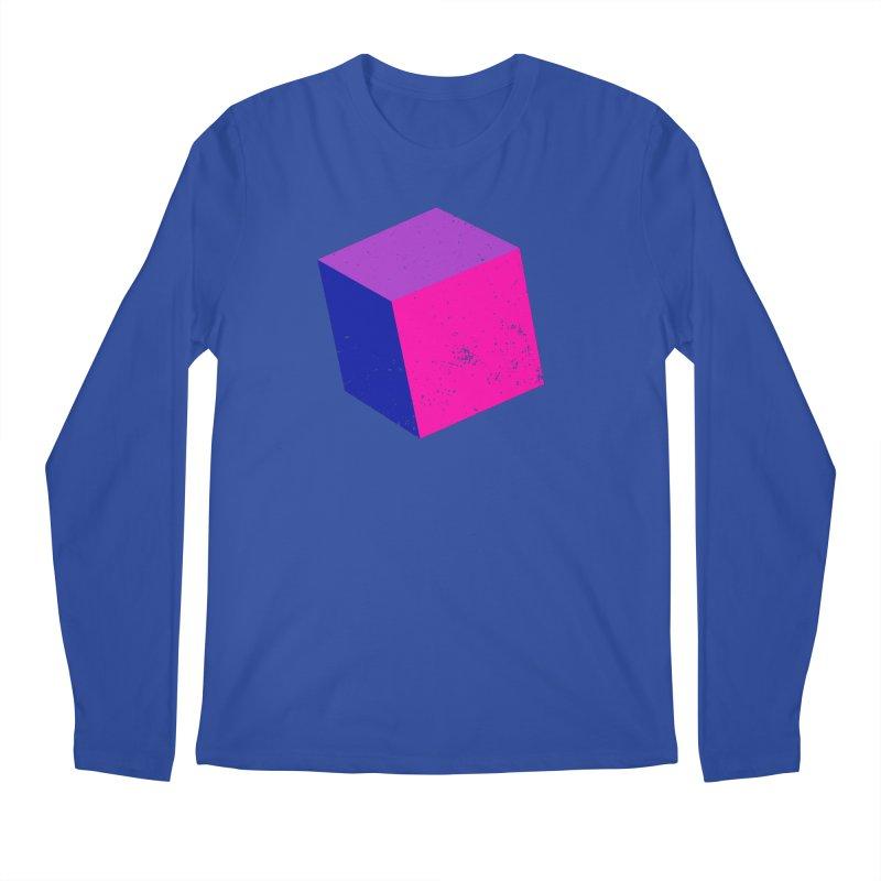 Bi - cubular Men's Regular Longsleeve T-Shirt by Prismheartstudio 's Artist Shop