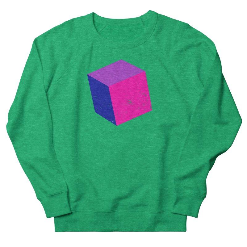 Bi - cubular Women's French Terry Sweatshirt by Prismheartstudio 's Artist Shop