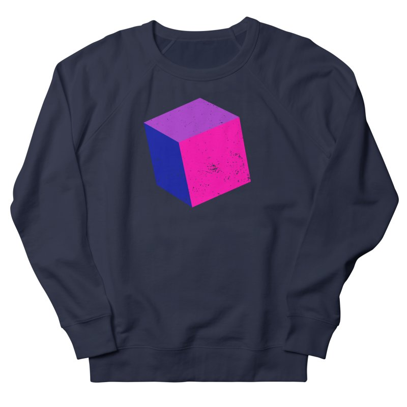 Bi - cubular Women's French Terry Sweatshirt by Prismheartstudio 's Artist Shop