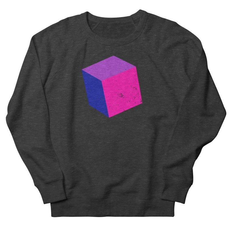 Bi - cubular Men's French Terry Sweatshirt by Prismheartstudio 's Artist Shop
