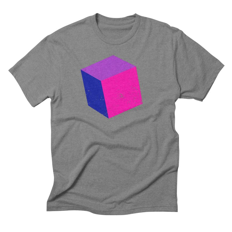 Bi - cubular Men's Triblend T-Shirt by Prismheartstudio 's Artist Shop