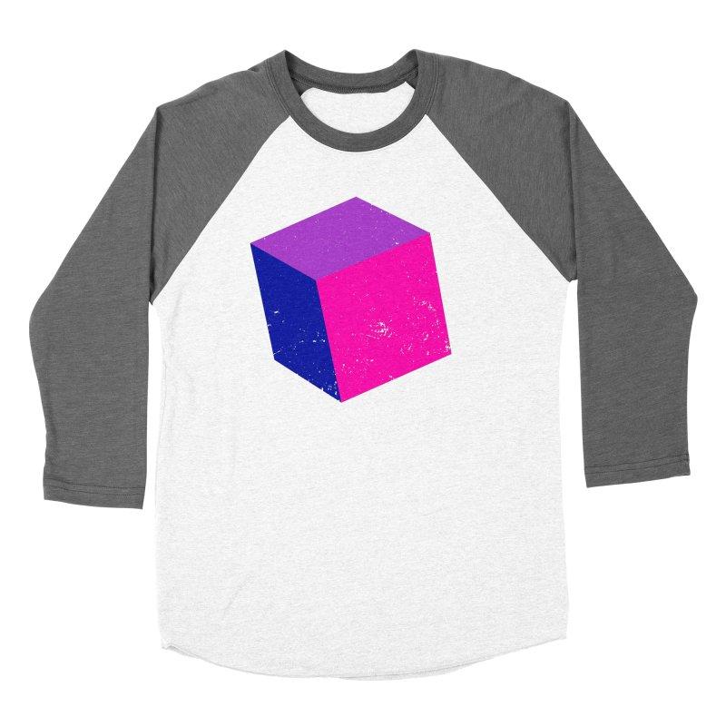 Bi - cubular Women's Baseball Triblend Longsleeve T-Shirt by Prismheartstudio 's Artist Shop