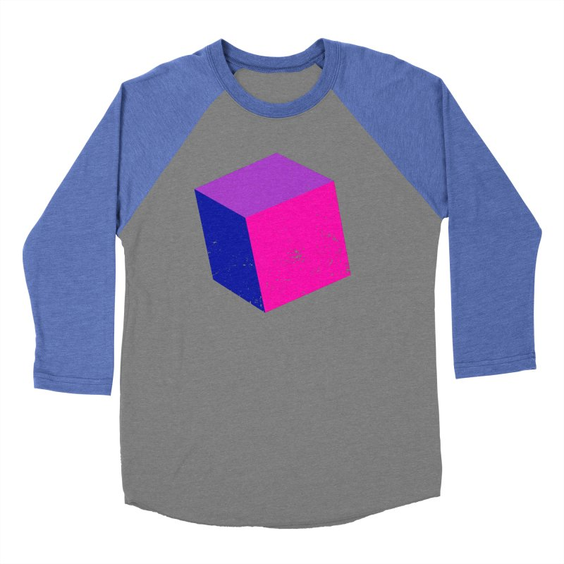 Bi - cubular Women's Baseball Triblend Longsleeve T-Shirt by Prismheartstudio 's Artist Shop