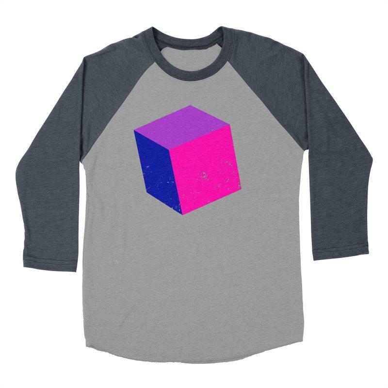 Bi - cubular Men's Baseball Triblend Longsleeve T-Shirt by Prismheartstudio 's Artist Shop