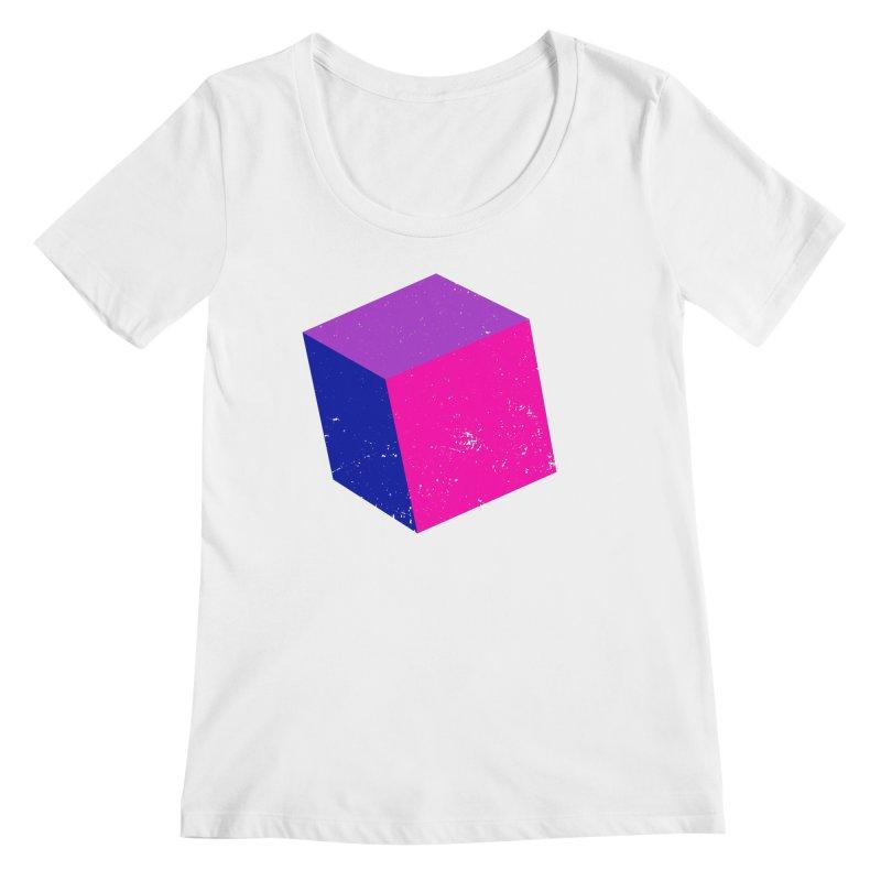Bi - cubular Women's Regular Scoop Neck by Prismheartstudio 's Artist Shop