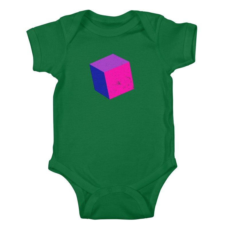 Bi - cubular Kids Baby Bodysuit by Prismheartstudio 's Artist Shop