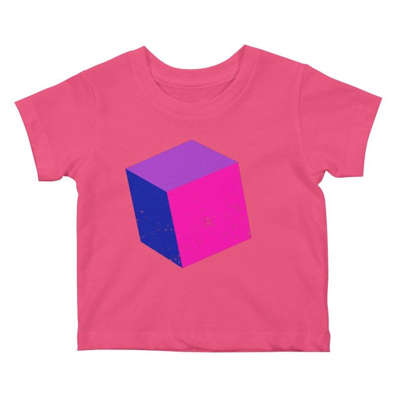 Bi - cubular Kids Baby T-Shirt by Prismheartstudio 's Artist Shop
