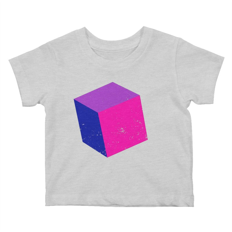 Bi - cubular Kids Baby T-Shirt by Prismheartstudio 's Artist Shop