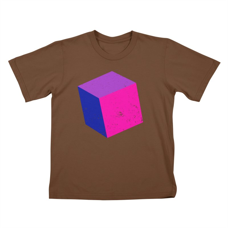 Bi - cubular Kids T-Shirt by Prismheartstudio 's Artist Shop