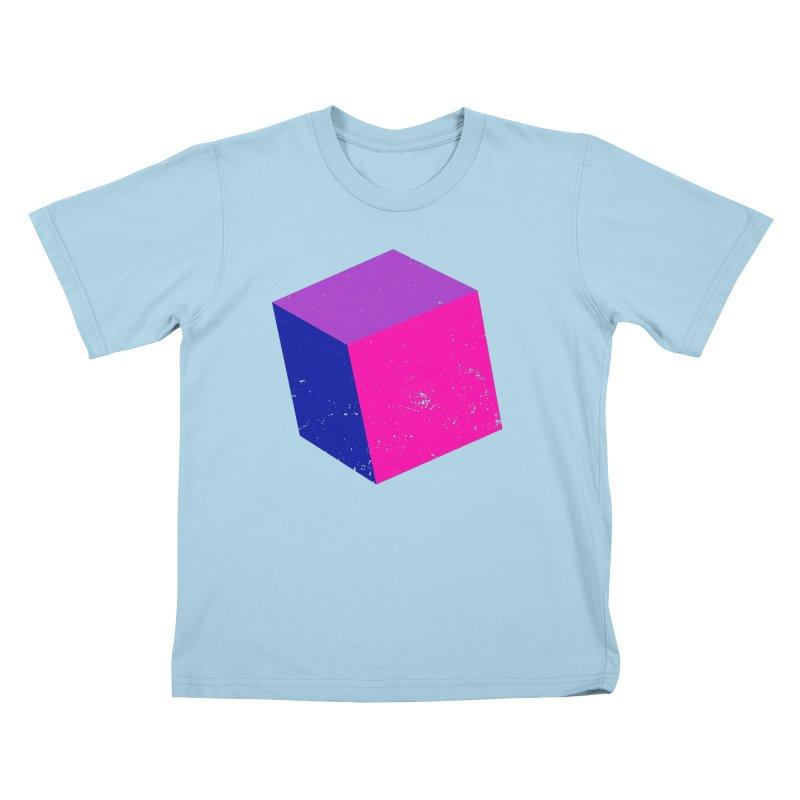 Bi - cubular Kids T-Shirt by Prismheartstudio 's Artist Shop