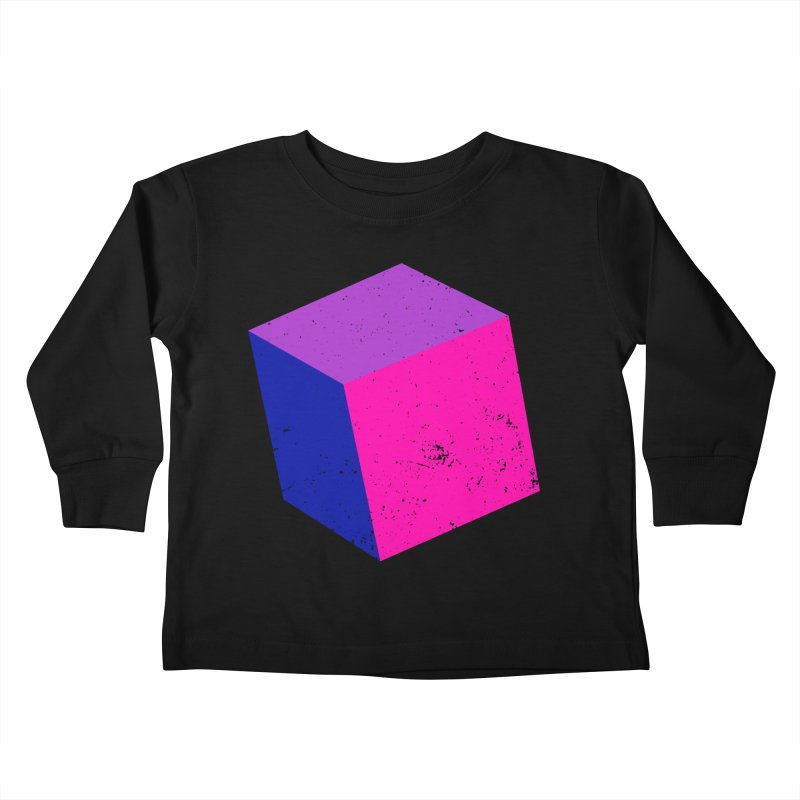 Bi - cubular Kids Toddler Longsleeve T-Shirt by Prismheartstudio 's Artist Shop