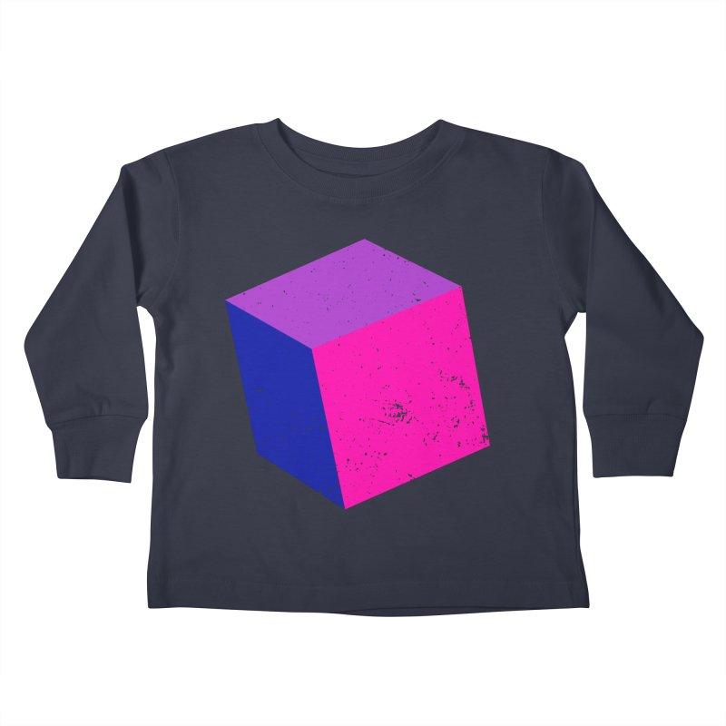 Bi - cubular Kids Toddler Longsleeve T-Shirt by Prismheartstudio 's Artist Shop