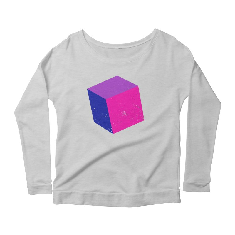 Bi - cubular Women's Scoop Neck Longsleeve T-Shirt by Prismheartstudio 's Artist Shop