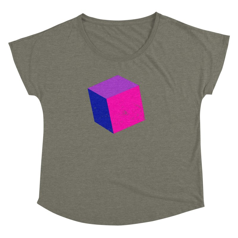 Bi - cubular Women's Dolman Scoop Neck by Prismheartstudio 's Artist Shop
