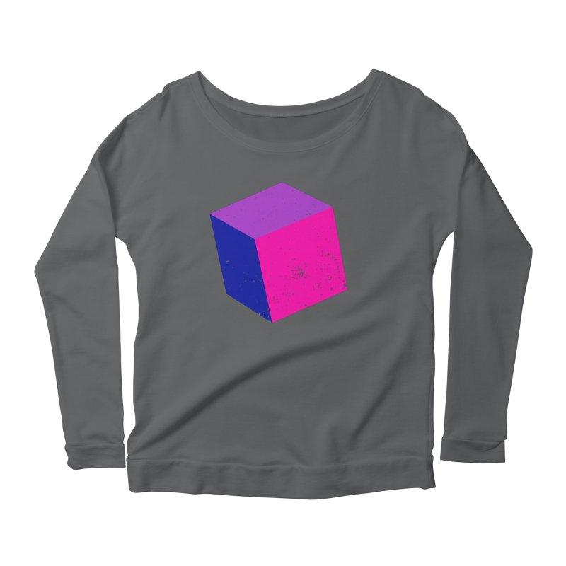 Bi - cubular Women's Scoop Neck Longsleeve T-Shirt by Prismheartstudio 's Artist Shop