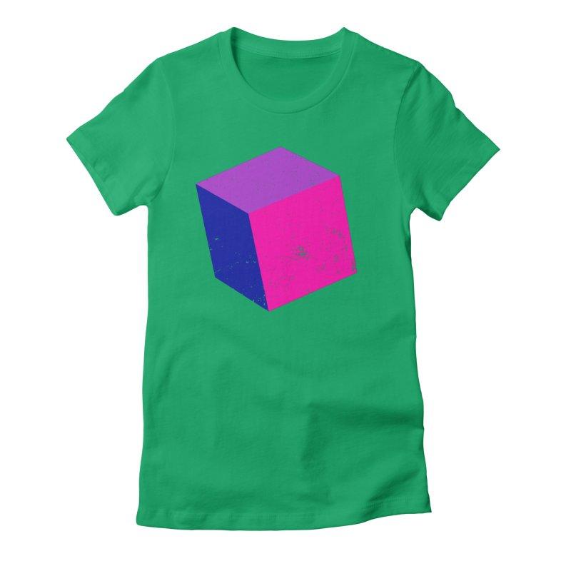 Bi - cubular Women's Fitted T-Shirt by Prismheartstudio 's Artist Shop