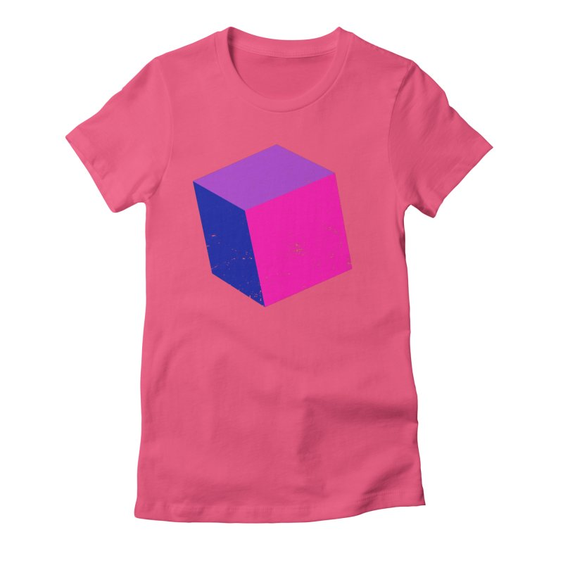 Bi - cubular Women's Fitted T-Shirt by Prismheartstudio 's Artist Shop