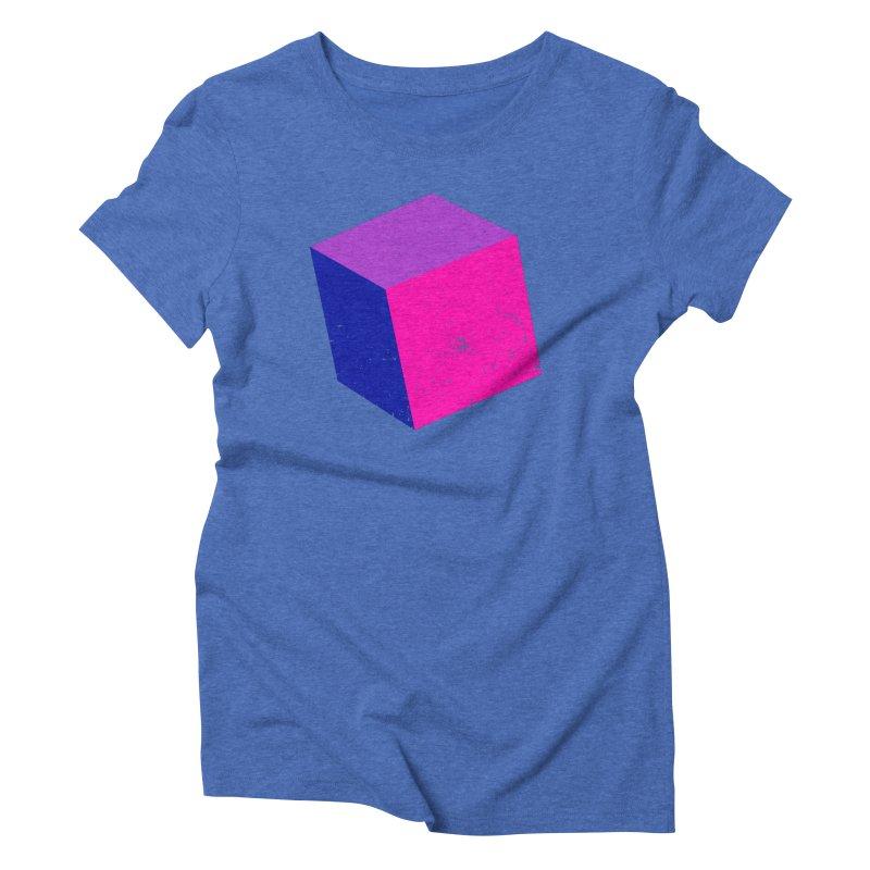 Bi - cubular Women's Triblend T-Shirt by Prismheartstudio 's Artist Shop