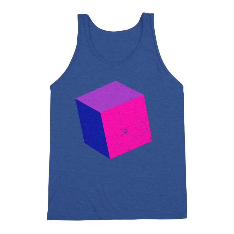 Bi - cubular Men's Triblend Tank by Prismheartstudio 's Artist Shop
