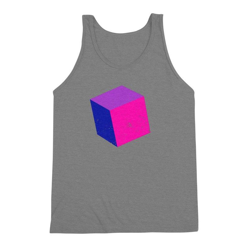 Bi - cubular Men's Triblend Tank by Prismheartstudio 's Artist Shop