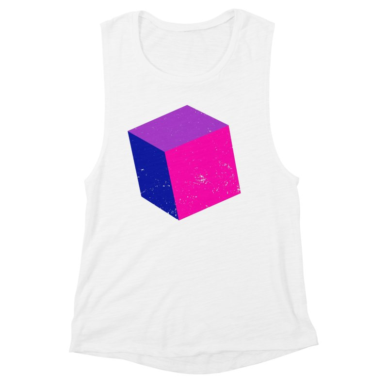 Bi - cubular Women's Muscle Tank by Prismheartstudio 's Artist Shop