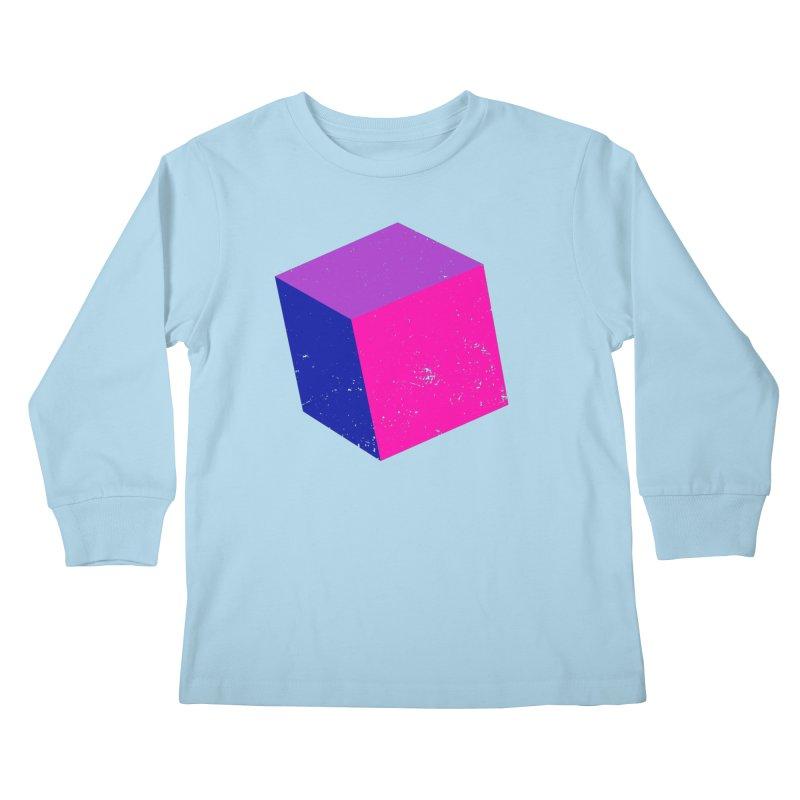 Bi - cubular Kids Longsleeve T-Shirt by Prismheartstudio 's Artist Shop
