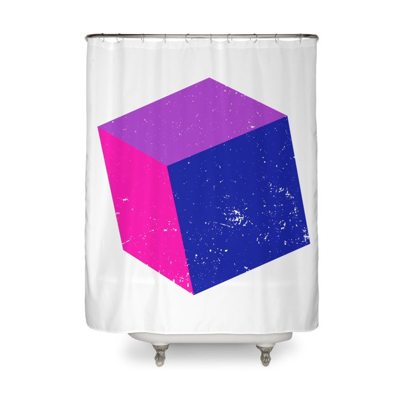 Bi - Cubular 2 Home Shower Curtain by Prismheartstudio 's Artist Shop