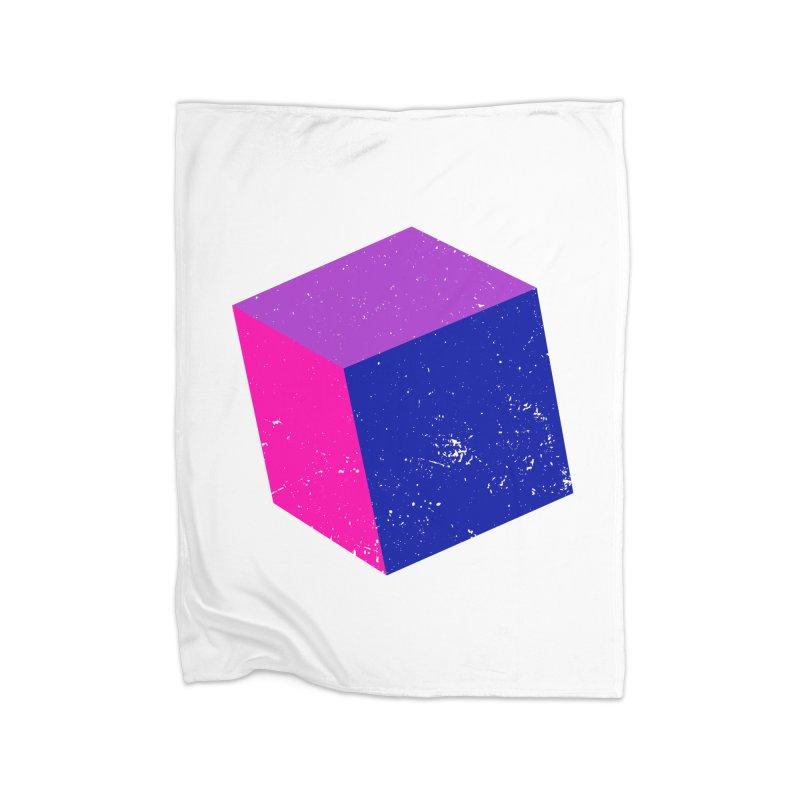 Bi - Cubular 2 Home Blanket by Prismheartstudio 's Artist Shop