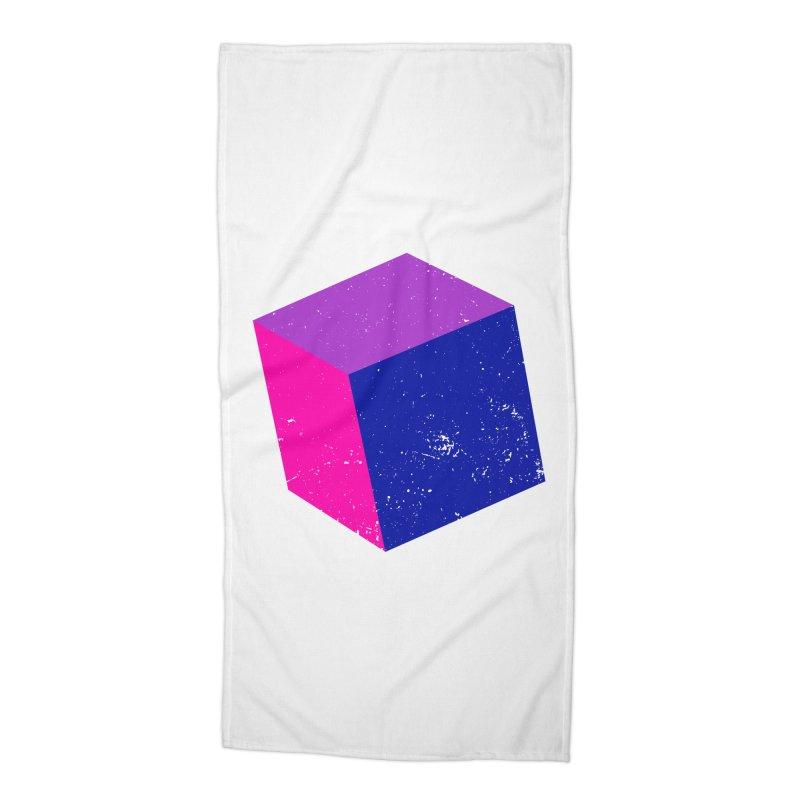 Bi - Cubular 2 Accessories Beach Towel by Prismheartstudio 's Artist Shop