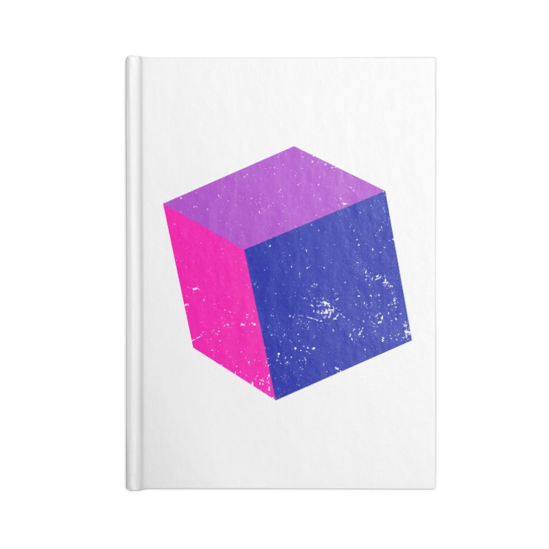 Bi - Cubular 2 Accessories Lined Journal Notebook by Prismheartstudio 's Artist Shop
