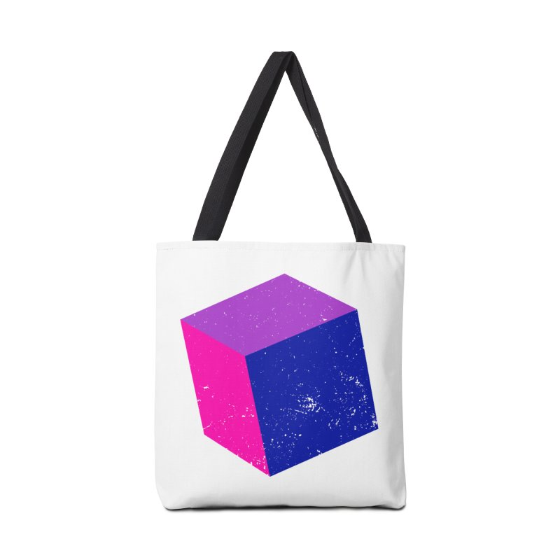 Bi - Cubular 2 Accessories Bag by Prismheartstudio 's Artist Shop