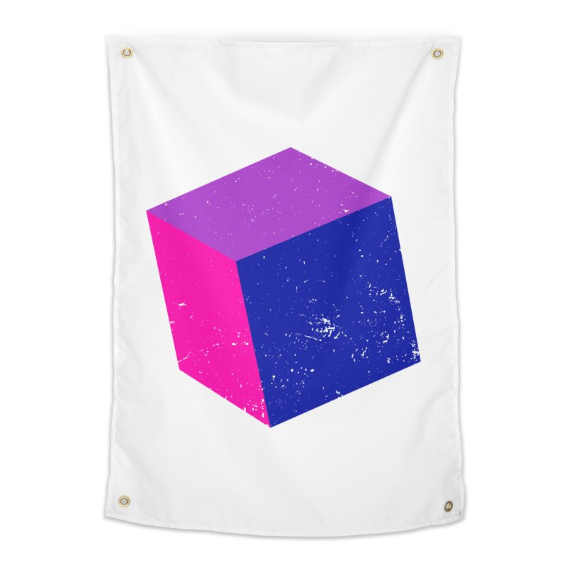 Bi - Cubular 2 Home Tapestry by Prismheartstudio 's Artist Shop