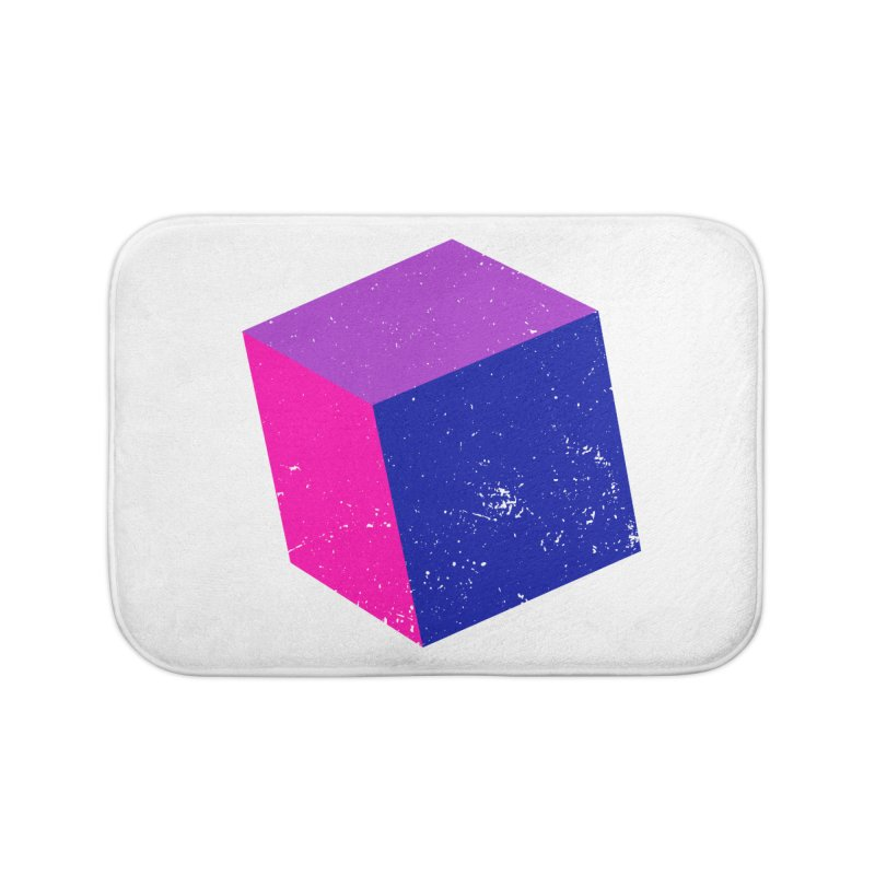 Bi - Cubular 2 Home Bath Mat by Prismheartstudio 's Artist Shop