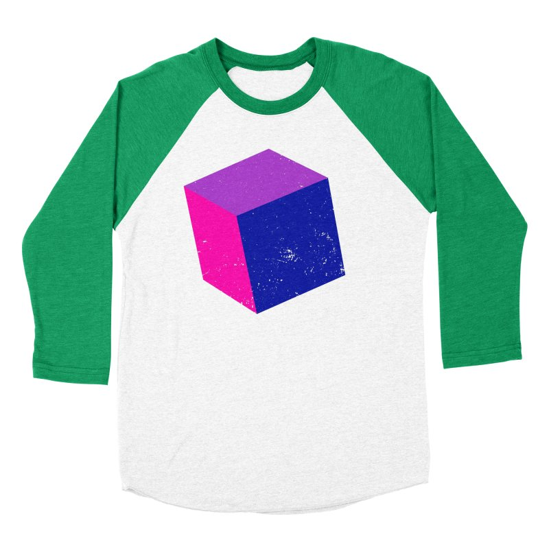 Bi - Cubular 2 Men's Longsleeve T-Shirt by Prismheartstudio 's Artist Shop