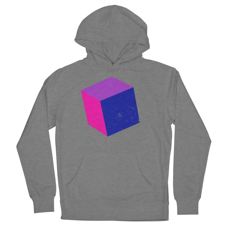 Bi - Cubular 2 Women's French Terry Pullover Hoody by Prismheartstudio 's Artist Shop