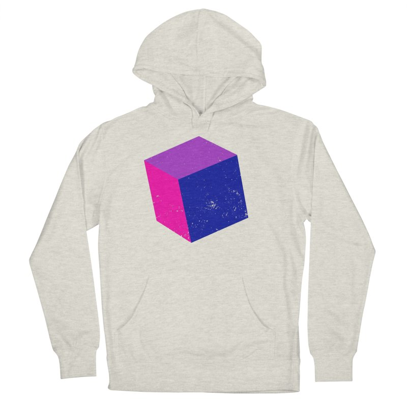 Bi - Cubular 2 Men's French Terry Pullover Hoody by Prismheartstudio 's Artist Shop