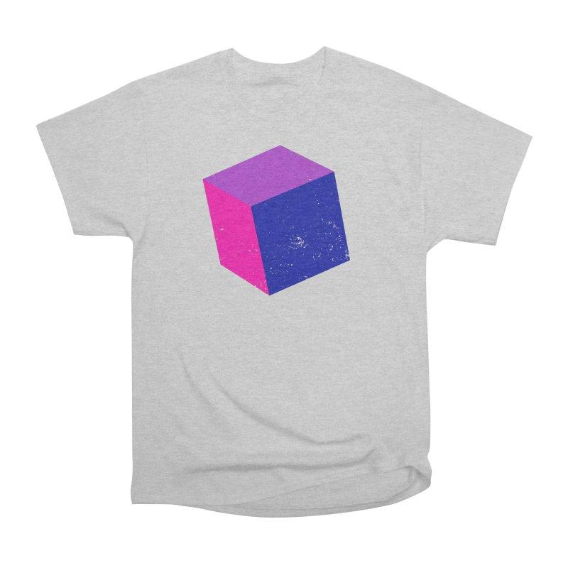 Bi - Cubular 2 Women's Heavyweight Unisex T-Shirt by Prismheartstudio 's Artist Shop