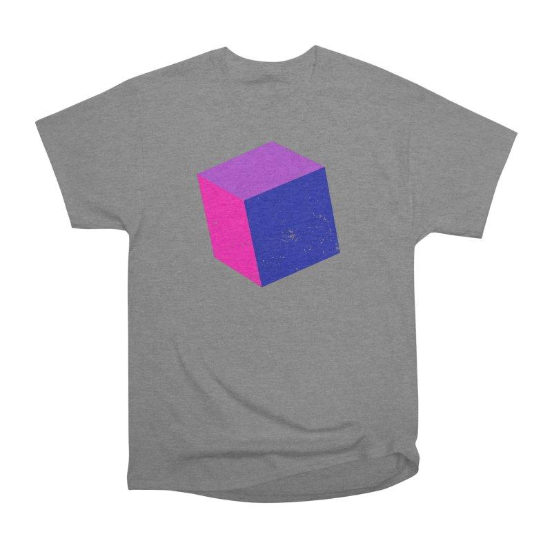 Bi - Cubular 2 Men's Heavyweight T-Shirt by Prismheartstudio 's Artist Shop