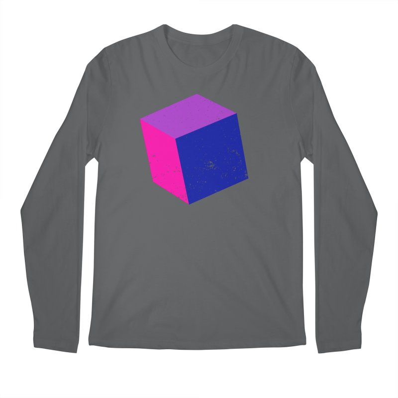 Bi - Cubular 2 Men's Longsleeve T-Shirt by Prismheartstudio 's Artist Shop