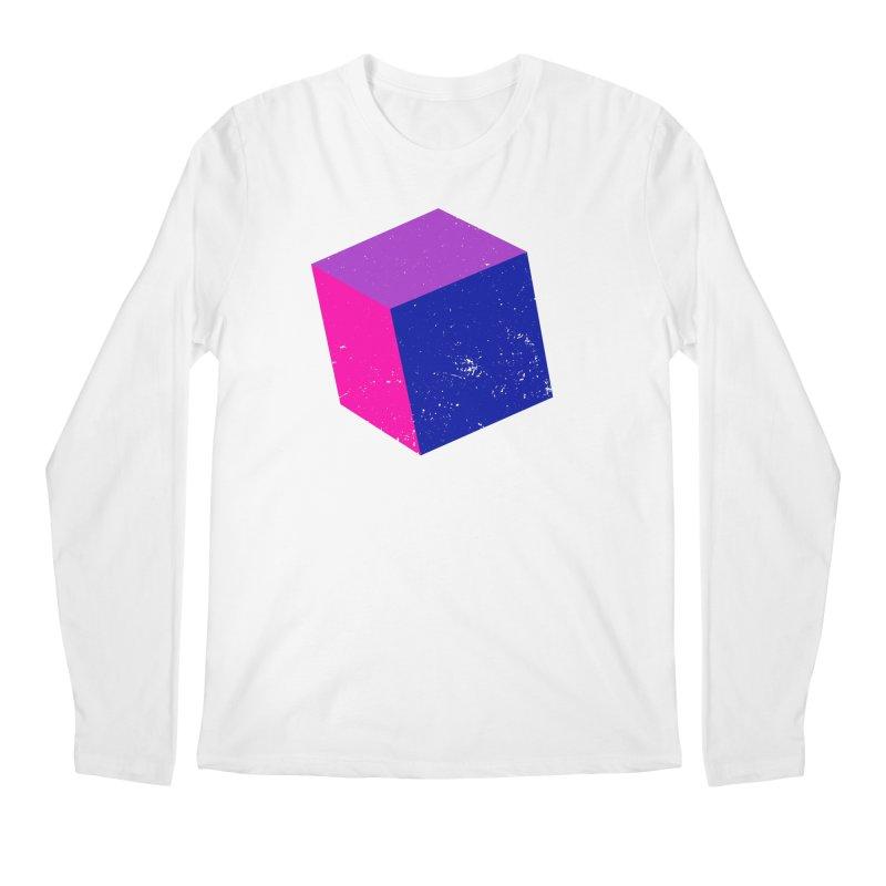 Bi - Cubular 2 Men's Regular Longsleeve T-Shirt by Prismheartstudio 's Artist Shop
