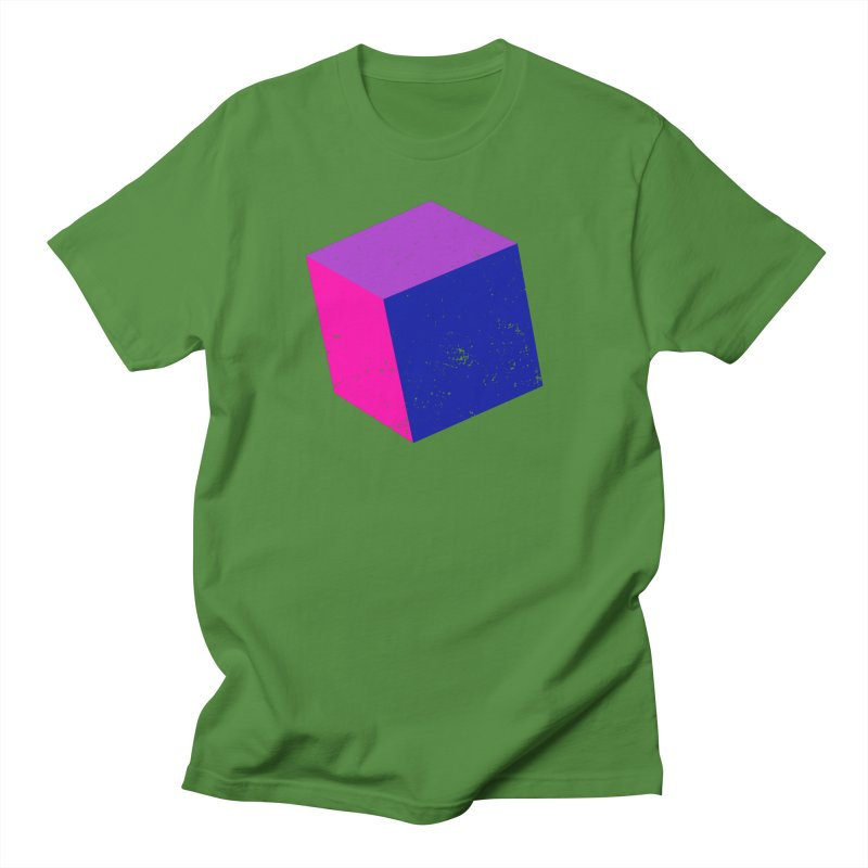Bi - Cubular 2 Men's T-Shirt by Prismheartstudio 's Artist Shop