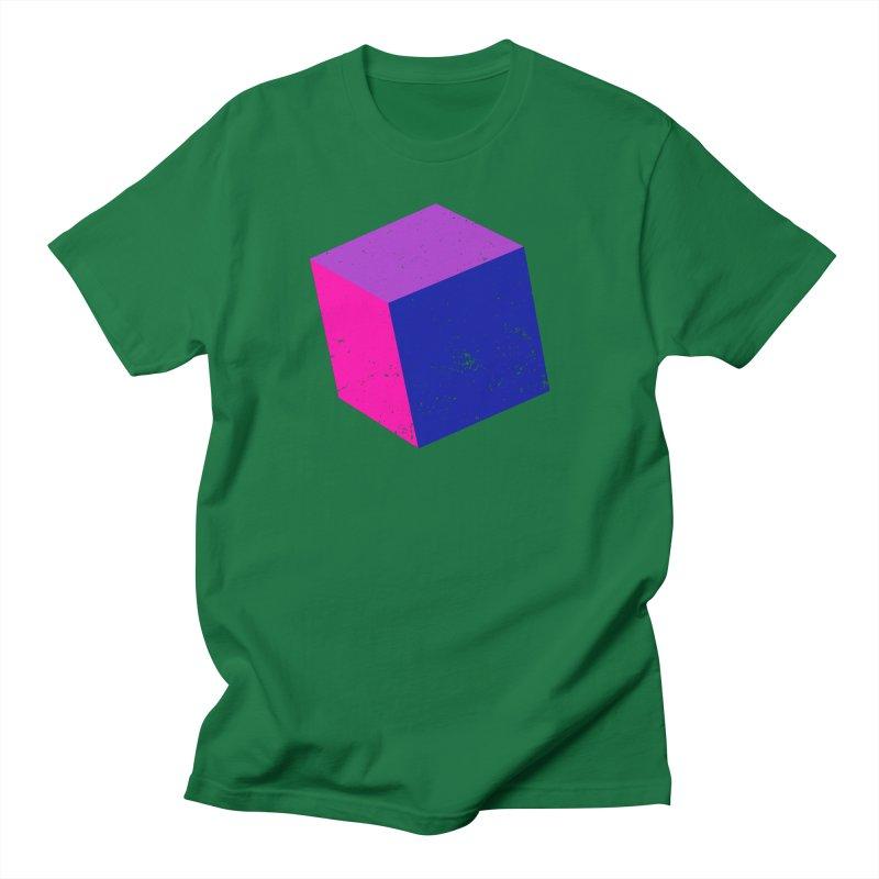 Bi - Cubular 2 Men's Regular T-Shirt by Prismheartstudio 's Artist Shop